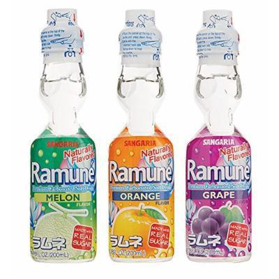 Ramune Assorted Natural 18 Pack