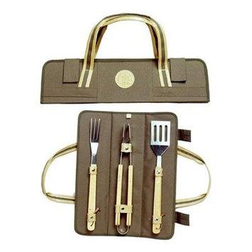 Picnic & Beyond BBQ Skewer Wrap- Brown