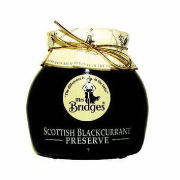 Mrs Bridges Scottish Preserve, Blackcurrant, 12 Ounce