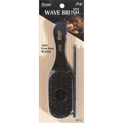 Annie mini pocket small manclub combo brush #2113 - SOFT-, soft bristles, natural bristles, boar bristles, hair comb, hair brush, long hair, short hair,
