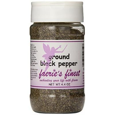 Faeries Finest Ground Black Pepper, 4.40 Ounce