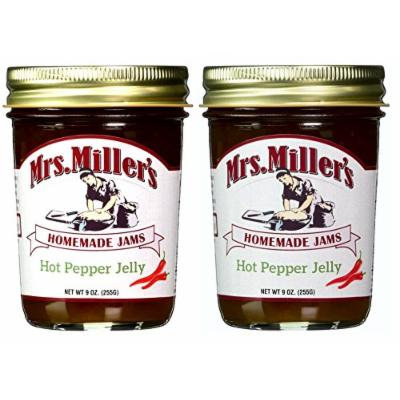 Hot Pepper Jelly (Amish Made) ~ 6 / 9 Oz. Jars