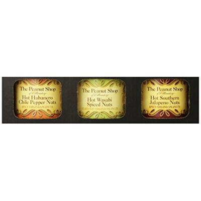 The Peanut Shop of Williamsburg 3 Piece Hot and Savory Gift Set