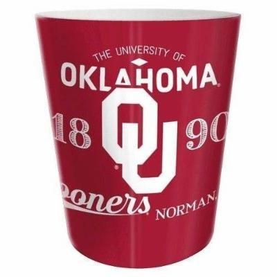 NCAA Oklahoma Sooners Trash Can - Multi-Colored