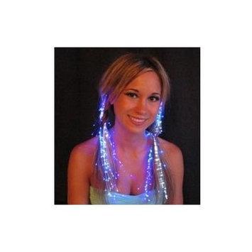 Glowbys LED Fiber Optic Light-Up Hair Barrette - Violet