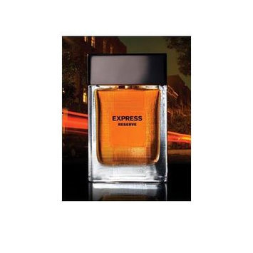 Reserve by Express for men Black Box with Amber color cologne 1.7oz
