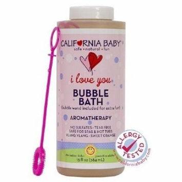 California Baby Bubble Bath Aromatherapy, I Love You 13 Oz (390 Ml)