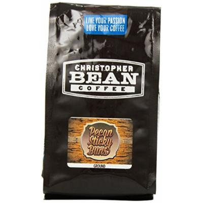 Christopher Bean Coffee Ground Coffee, Pecan Sticky Buns, 12 Ounce