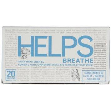 Helps Herbal Teas, Breathe, 20 Count (Pack of 6)