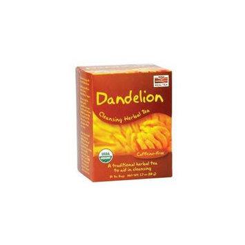 Now Foods Dandelion Cleansing Herbal Tea, 24 Bags (Pack of 4)
