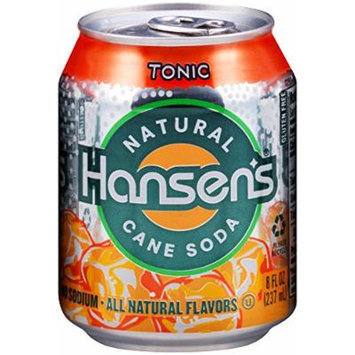 Hansen's Tonic Water (8-Ounce Cans, Pack of 24)