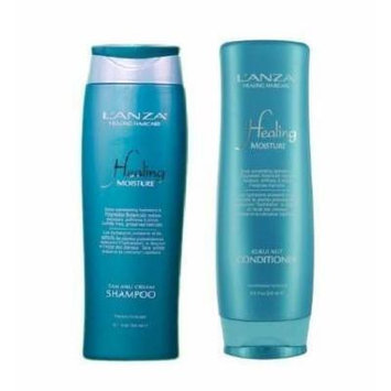 L'anza Moisture Tamanu Cream Shampoo 10.1 oz Kukui Nut Conditioner 8.5 oz Duo Set