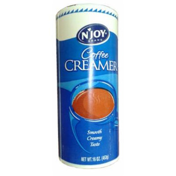 N'Joy Non-dairy Powdered Creamer For Coffee, 16oz (453g) Canister