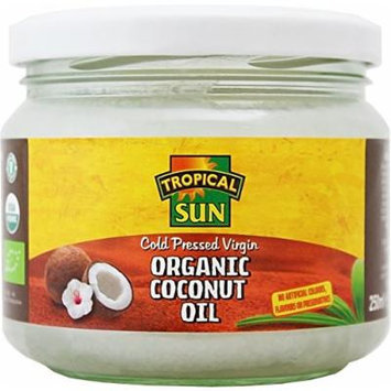 Tropical Sun Organic Virgin Coconut Oil 250 Ml