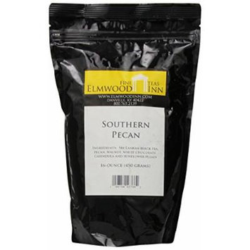 Elmwood Inn Fine Teas, Southern Pecan Black Tea, 16-Ounce Pouch