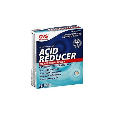 CVS Regular Strength Acid Reducer Ranitidine Tablets 75mg
