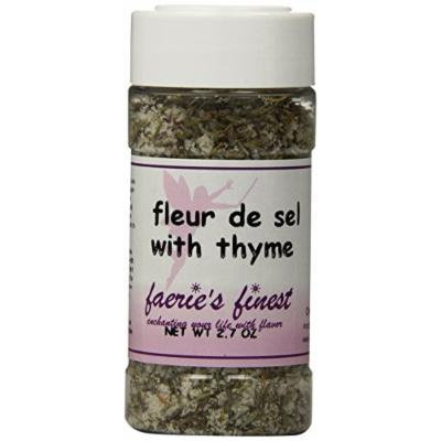 Faeries Finest Fleur De Sel Spices, Smoked with Thyme Spices, 2.70 Ounce