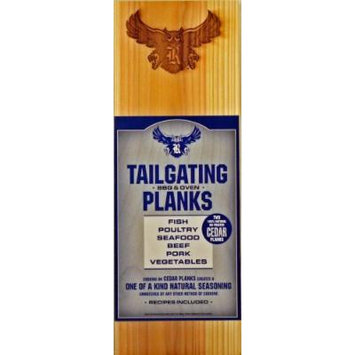 Chef Locke Rice University TailGating BBQ Plank