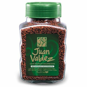 Juan Valdez Instant Decaffeinated Freeze Dried Coffee
