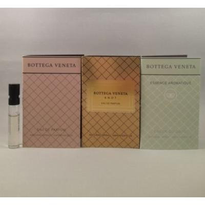 3 Bottega Veneta Knot, Edp, Essence Aromatique 1.2 Ml/ 0.04 Oz Spray Sample Vial for Women Lot TRY ALL