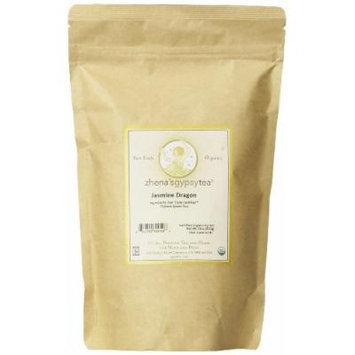 Zhena's Gypsy Tea Jasmine Dragon Organic Loose Tea, 16-Ounce Bag
