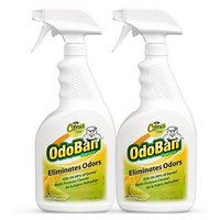 OdoBan Odor Eliminator & Disinfectant Ready-to-Use, Citrus Scent (34 Ounces, 4 Pack)