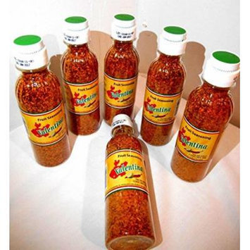 6 Bottles of Mexican Valentina Fruit Seasoning Chili Powder!! 4.93 oz Each