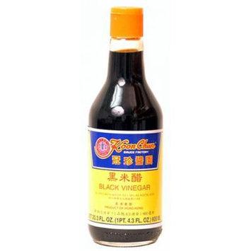 Koon Chun Black Vinegar, 20.3-Ounce Bottle (Pack of 2)