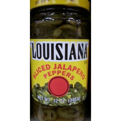 Louisiana Sliced Jalapeno Peppers 12 Ounce (Pack of 3)