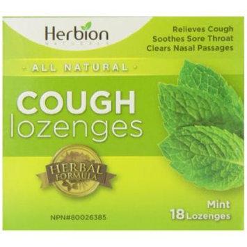 Herbion Naturals Cough Drops, Mint, 18 Count
