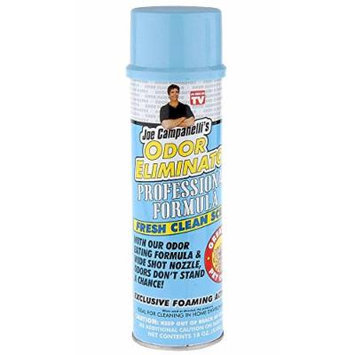 Campanelli's Professional Formula Odor Eliminator - With Exclusive Foaming Action, Wide Shot Nozzle, and Active Enzymes! Remove Odors from Pet Stains, Carpet, Upholstery, Trash Cans, Toilets, Autos, and more!