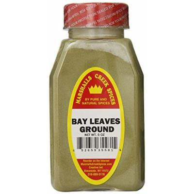 Marshalls Creek Spices Bay Leaves Ground, 5 Ounce (Pack of 12)