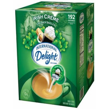 International Delight Irish Creme Liquid Creamer, 192-Count Single-Serve Packages