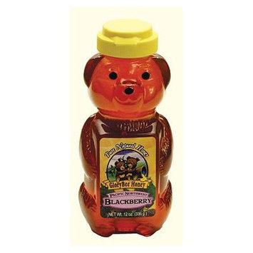 Glorybee Pacific Northwest Blackberry Honey Squeeze Bears (6/12 oz)