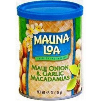 Hawaiian Value Pack Mauna Loa Macadamia Nuts Maui Onion & Garlic 6 Cans