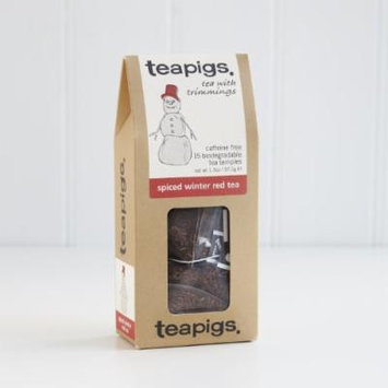 Teapids Whole Leaf Tea (Spiced Winter Red, 15 temples)