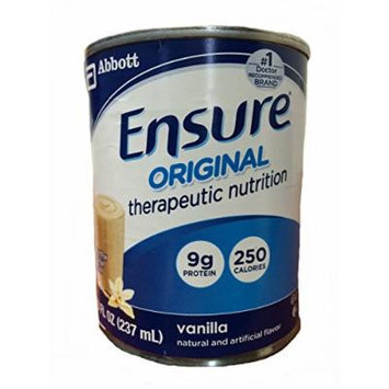 Ensure Original Therapeutic Nutrition (Formerly Ensure Immune Health) Vanilla, 8oz Cans - 24/Case