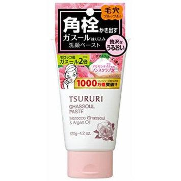 B&C Lab Tsururi Ghassoul Face Wash Paste Black Head Remover Rose
