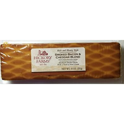 10oz Hickory Farms Smoked Bacon & Cheddar Blend, Pack of 2