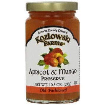 Kozlowski Farms Preserve, Apricot and Mango, 10.5-Ounce (Pack of 6)