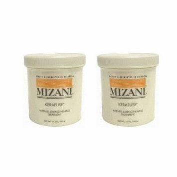 Mizani Kerafuse Intense Strengthening Treatment 15oz (Pack of 2)