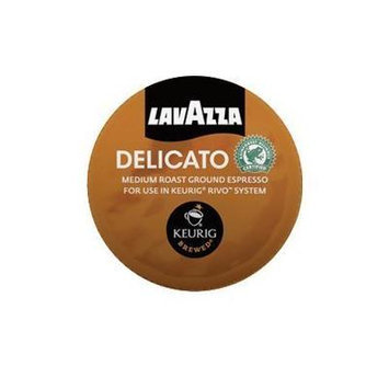 Lavazza Delicato, Medium Roast, Espresso Packs for Keurig Rivo Systems