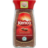 2 Jars of Kenco Smooth Instant Coffee each jar 3.5oz/100g