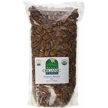 Braga Organic Farms 2 Lb Organic Raw Pecans