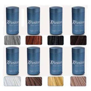 XFusion Keratin Hair Fibers - Grey - balding or thinning hair Travel Size 3g