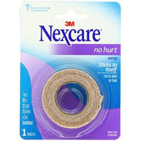 Nexcare No Hurt Wrap Tan 1 Inches X 2.2 Yards Un-Stretched Pack of 6