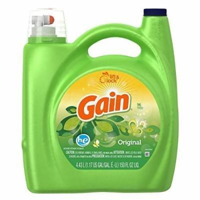 Gain Liquid Laundry Detergent, Original, 150 Oz