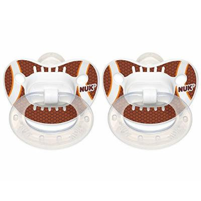 NUK Orthodontic Sports Pacifiers- 18-36 Months (Size 3) - Football 2
