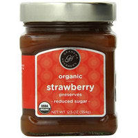 Grandma Hoerner's Organic Strawberry Preserves, Reduced Sugar, 12.5 Ounce
