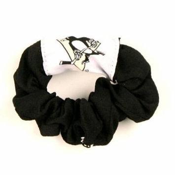 Pittsburgh Penguins NHL Jersey Hair Scrunchie (Black)